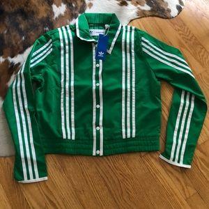 🆕 Ji Won Choi Adidas Green Track Jacket medium 💚
